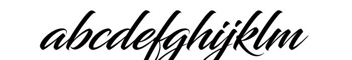 Blacksword Font LOWERCASE