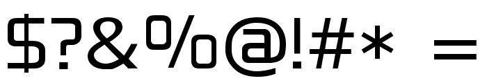 Blackthorns Demo Regular Font OTHER CHARS