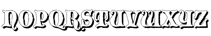 Blackwood Castle Shadow Font UPPERCASE