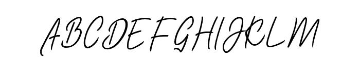 Bladog Personal Use Regular Font UPPERCASE