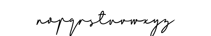 Bladog Personal Use Regular Font LOWERCASE