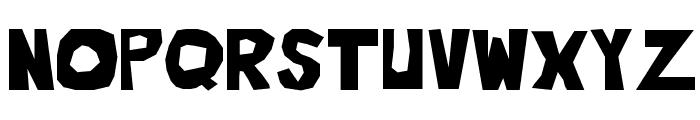 Blahh Font UPPERCASE