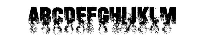Blaize Font UPPERCASE