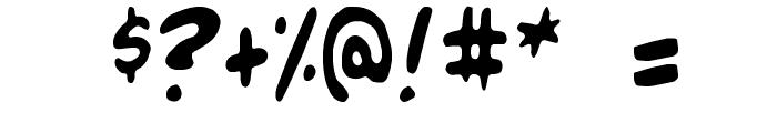 Blambot-Custom Font OTHER CHARS