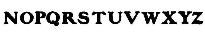 BlanchardInland Font UPPERCASE