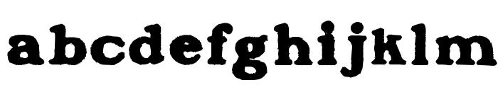 BlanchardInland Font LOWERCASE