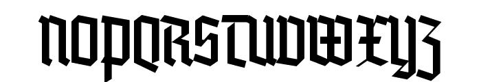 Blankenburg Font UPPERCASE