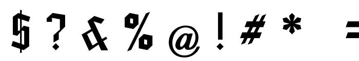 Blankenburg_UNZ1A Italic Font OTHER CHARS
