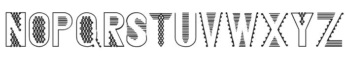 Blankenship Font UPPERCASE