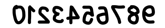 Blanket Reversed Font OTHER CHARS
