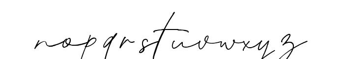 Blante Panama Script DEMO Regular Font LOWERCASE