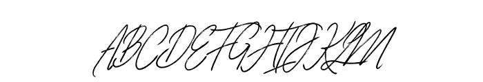 Blarrack Personal Use Regular Font UPPERCASE