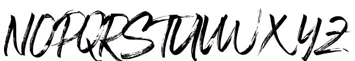Blastimo-Regular Font UPPERCASE