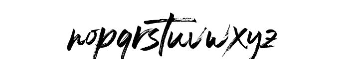 Blastimo-Regular Font LOWERCASE