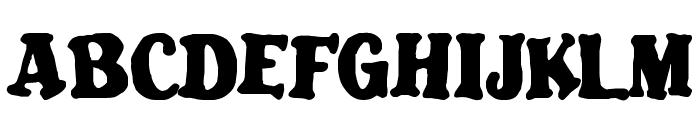 Blatant Font UPPERCASE