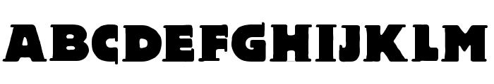 BlaxBloxx Font UPPERCASE