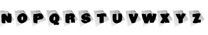 BlaxxOnGrid Font UPPERCASE