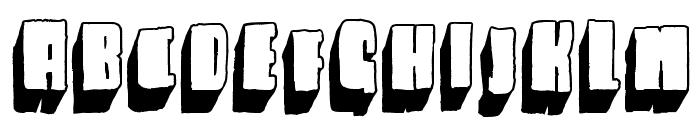 Blck Font UPPERCASE