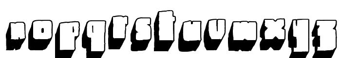 Blck Font LOWERCASE