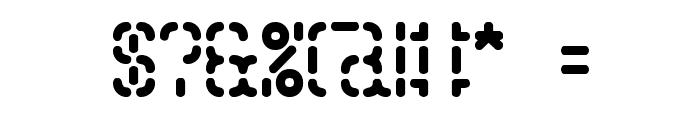 Bleak Segments BRK Font OTHER CHARS