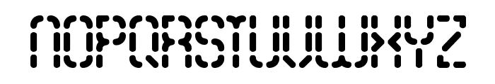 Bleak Segments BRK Font UPPERCASE