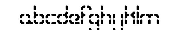 Bleak Segments BRK Font LOWERCASE