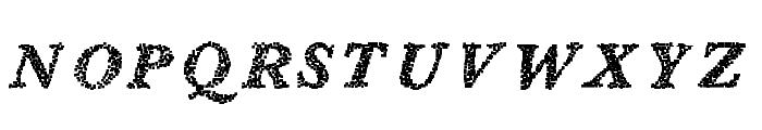 BlearyDays Font UPPERCASE