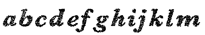 BlearyDays Font LOWERCASE