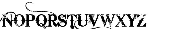 Bleeding Cowboys Font UPPERCASE
