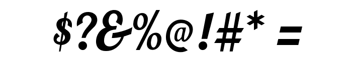 BlendaScript Font OTHER CHARS