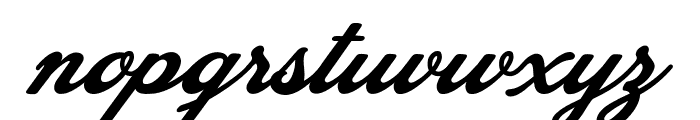 Blessed Personal Use Font LOWERCASE
