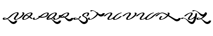 Blessing Son Font UPPERCASE