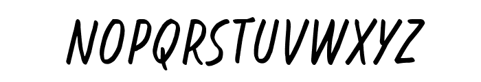 Blessing in Disguise Italic Font LOWERCASE