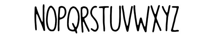 Blikfang DEMO Regular Font UPPERCASE