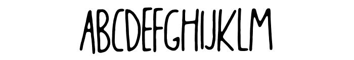 Blikfang DEMO Regular Font LOWERCASE
