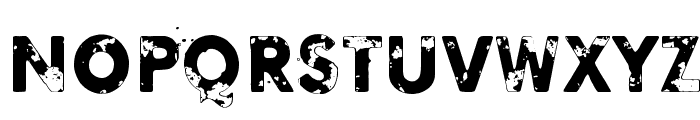 Blinded by desire Font LOWERCASE