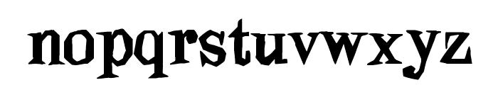 Blindfold Font LOWERCASE