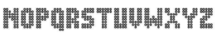 Blingo Font UPPERCASE