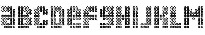 Blingo Font LOWERCASE