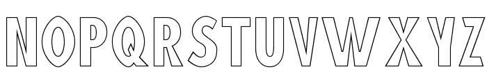Blink 'Liner Font UPPERCASE