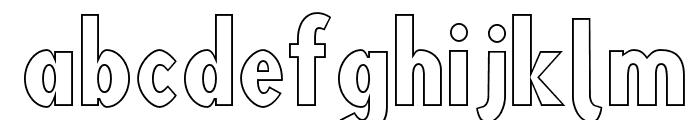 Blink 'Liner Font LOWERCASE