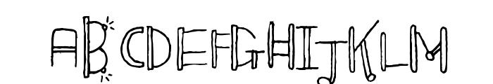 Blinkers Font UPPERCASE