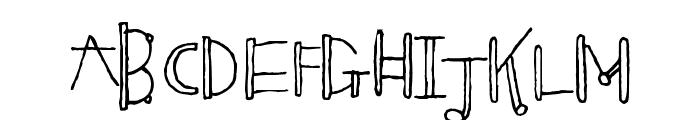 Blinkers Font LOWERCASE