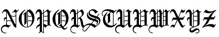 Bliss Normal Font UPPERCASE