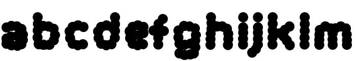 BlissYeah2 Font LOWERCASE