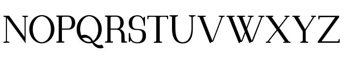 Blithedale Serif Font UPPERCASE