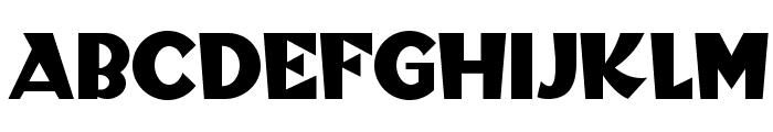 Blitzkrieg NF Font UPPERCASE