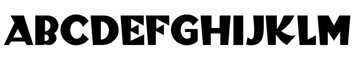 Blitzkrieg NF Font LOWERCASE