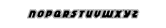 Blitzstrike Pro Italic Font LOWERCASE