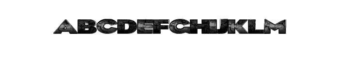 BlkLite Font LOWERCASE